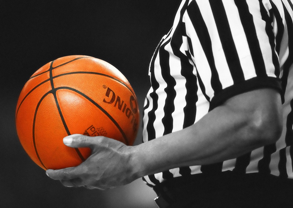 number of basketball referees what do you think